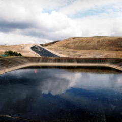 Image illustrating Leachate Treatment at Landfill Sites.